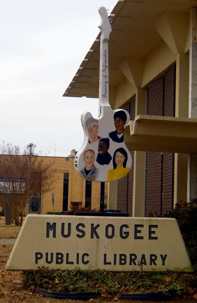 Muskogee Public Library Muskogee Chamber Of Commerce