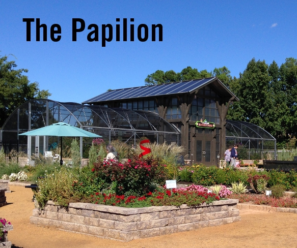 The Papilion Butterfly House at Honor Heights Park in Muskogee, OK