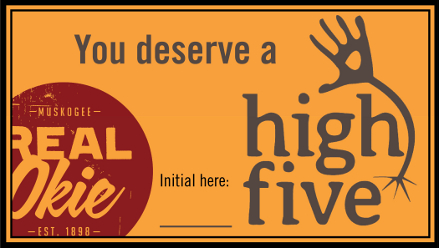 high five cards front439