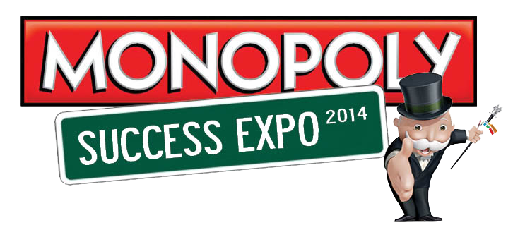 Monopoly Success Expo 2014 Logo Muskogee Chamber of Commerce
