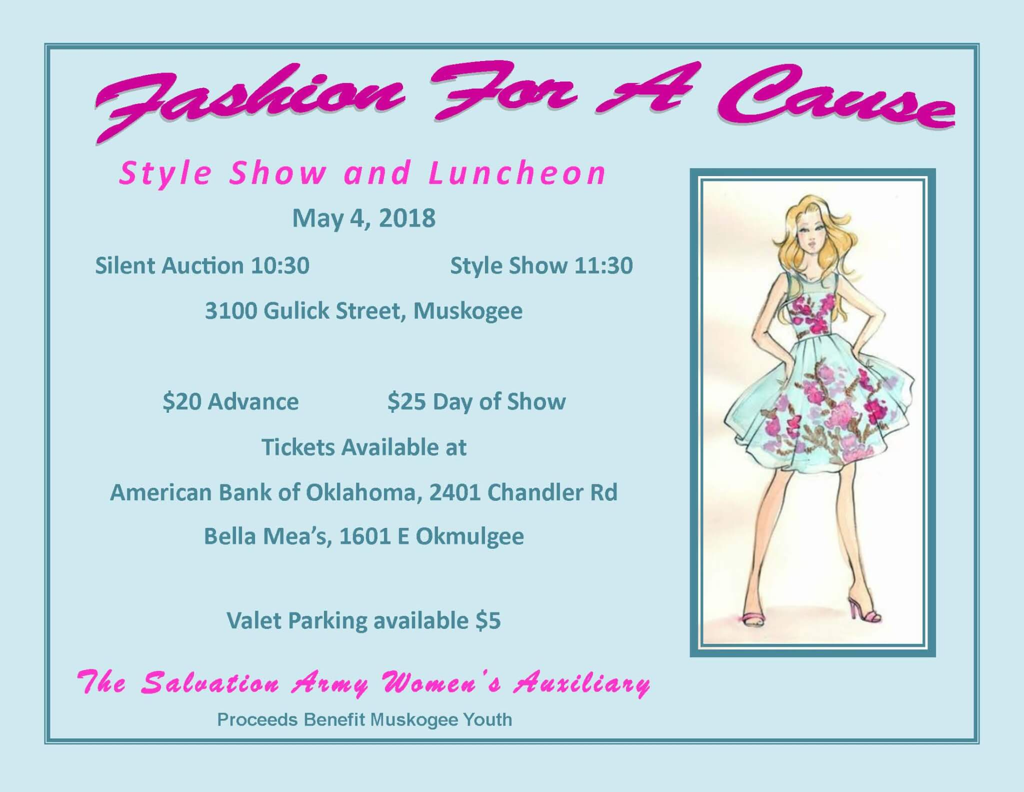 Fashion for a Cause, Style Show and Luncheon | Muskogee
