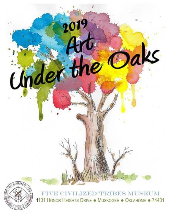 Art Under The Oaks Competitive Art Show Muskogee Chamber